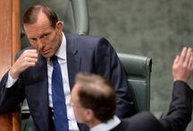 """Tony Abbott and other stupid people stuffing up the planet.  /  I want to say """"men"""" stuffing up the world, because not only are they the ones usually in powerful positions, but they are also largely responsible for excluding women."""