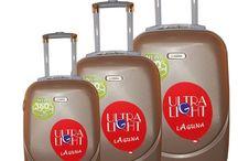 set 3 σκληρές βαλίτσες