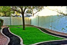Backyard ideas / by Leslie Coats