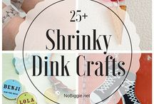 Shrinky Dink craft