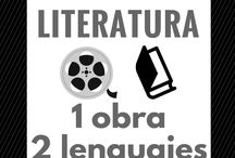 Cine y literatura / Os presentamos una misma obra en dos soportes y dos lenguajes distintos. Dos formas de disfrutar. Todas en Biblioteca Pública Municipal Manuel Alvar (Zaragoza).