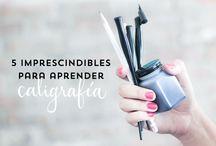 Lettering | Materiales / Los mejores materiales para hacer lettering y caligrafía.
