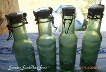 JanniesJunkAndJems - Glass Goblin / vintage bottles and jars