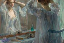 Louise Catherine Breslau / (1856 – 1927) a German-born Swiss artist