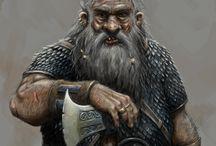 FANTASY • Dwarf • Male