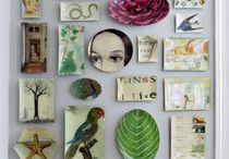 decorating with trays, plates and melamine