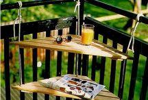 Outdoor mini terrace