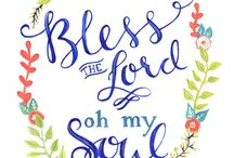 Bless the Lord oh my soul / by Richard Burns