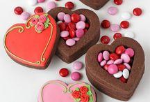 cakes & cookies || valentine's day