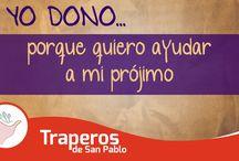Yo Dono / Mensajes de ayuda social.