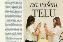 Kraljevska masaža / Teks u časopisu Bilje i Zdravlje