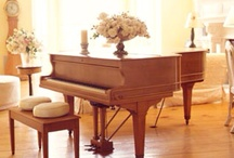 music room / beauty of musical instruments in the home / by Lara Dennehy Horsting