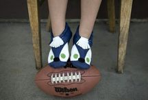 Seahawks / Do you love the Seattle Seahawks! See these Seahawks Animoccs & coin purse by Lili Collection. Hip NFL gear
