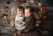 Maas Twins - Newborn Session