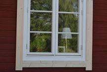 fönster dörr vägg