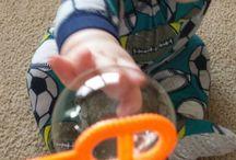 Bebês em Foco / Atividades sensoriais, como contar historias - envolvendo os   bebês