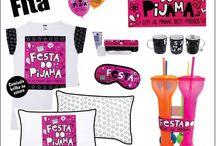 Festa do Pijama / Nós AMAMOS uma boa festa e quando podemos juntar nossos melhores amigos então, fica melhor ainda, e para você poder curtir muuuuuito com elas nós da Fitá montamos sua festado Pijama com tudo super legal!
