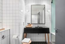 bathrooms / by Catherine Bailey (Heath Ceramics)