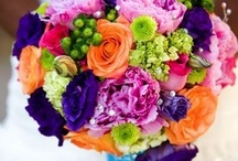 Bright Wedding Flowers x / by Wisteria Avenue