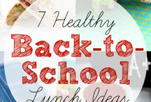Back to School Lunches and Snacks