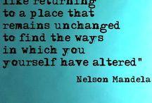 Nelson Mandela Quotes / by Tina Klonaris-Robinson