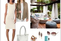 Putting Me Together Outfits / A collage of outfits by the Sister House designer, Evgeniya