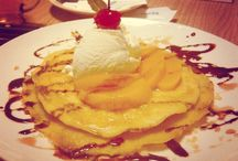 Sweet Sweet ❤ / All you need to have sweetest things is Pancake in your mouth.. Delicious..