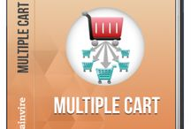 Multiple Cart Extension / Brainvire Multiple Cart extension for Magento lets you buy the simple products in a minute, just by selecting the products through check box and adding the quantities for each on the list page itself and adding them t cart.