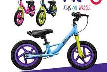 Rowerki biegowe Kido / Rowerki biegowe dla dzieci od 2 do 5 lat marki Kido