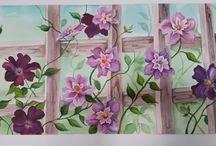 quadri olio acrilico e acquerelli / miei dipinti