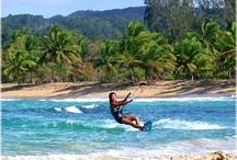 Kitesurfing in the Caribbean