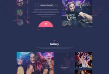 Night Club Web Design