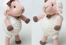 Zajíčci a ovečky (bunnies and sheep)
