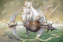 steampunk ships