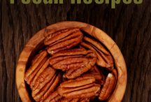 April is National Pecan Month / Recipes with pecans for snacks, entrees, desserts