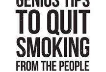 Giving up smoking