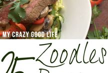 Zoodle Recipees