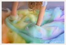 Sensory/exploratory play ideas