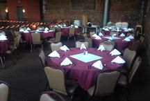 Our Space at the C.H. Evans Brewing Co. at The Albany Pump Station / Our banquet space.