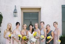 Bridesmaids / You need the girls to help you make your special day that extra special!