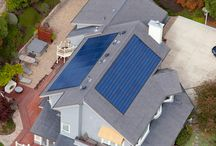 greening home - solar shingles etc
