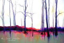 Sunrise & Sunset / Paintings
