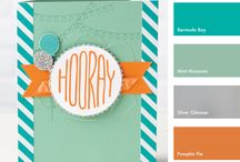 Color Me Happy - SU Color Combos