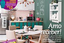 Capas / Capas das edições da revista Decorar Mais por Menos