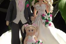 mariage gâteau topper