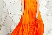 Orange Bridesmaids Dresses Inspiration