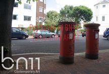 bn11 - Satoshi Takemura [Postcards] Horizontal / Postcards of the postboxes of bn11 [BRIGHTON AREA] Horizontal