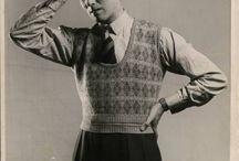 moda meska lata 30