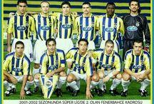 2001-2017 FENERBAHÇE FUTBOL TAKIMI