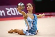 Rhythmic gymnastic leotards